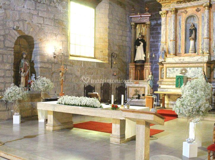 Altar ceremonia religiosa