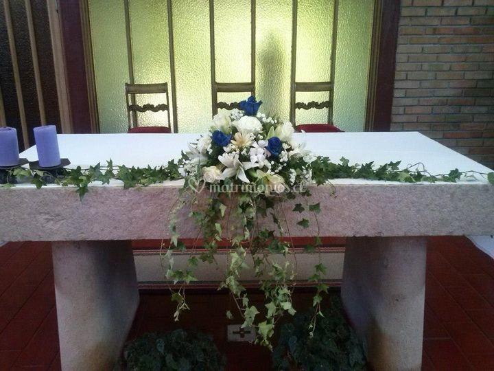 Altar bautizo