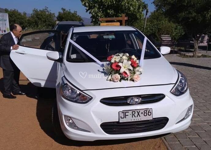 Arreglo auto novia