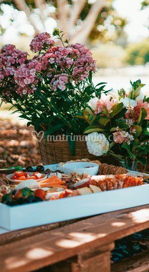 Flores y decoraciones