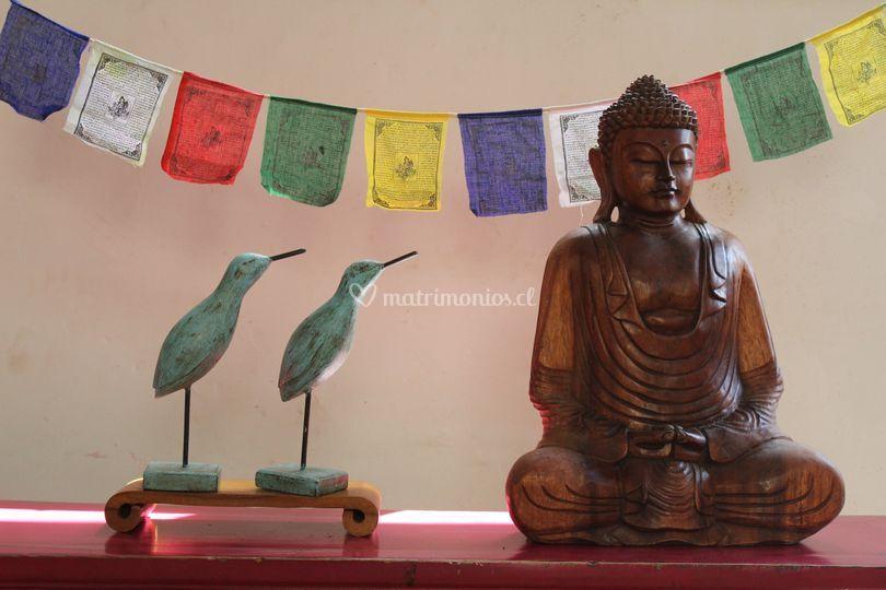 Budas de todos los materiales
