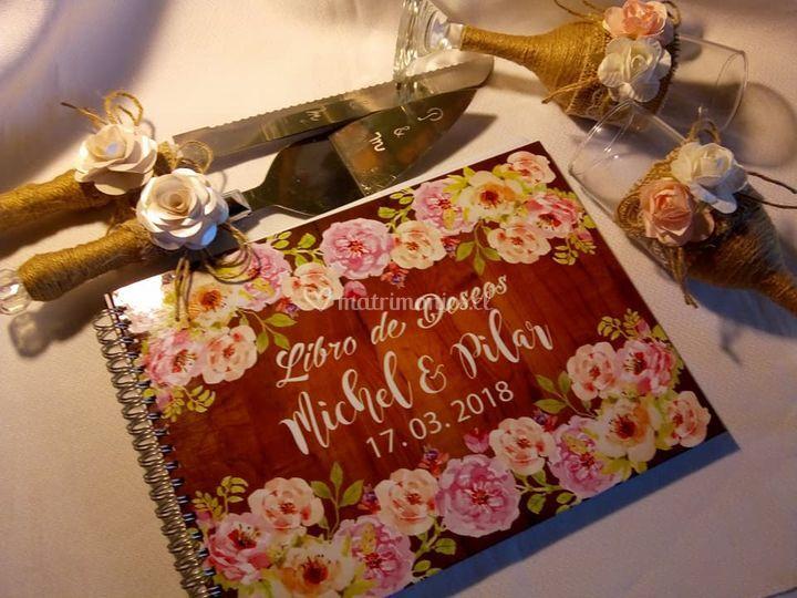 Libro de deseos y complementos