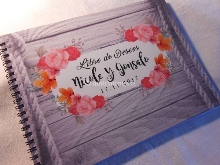 Libro de deseos, personalizado