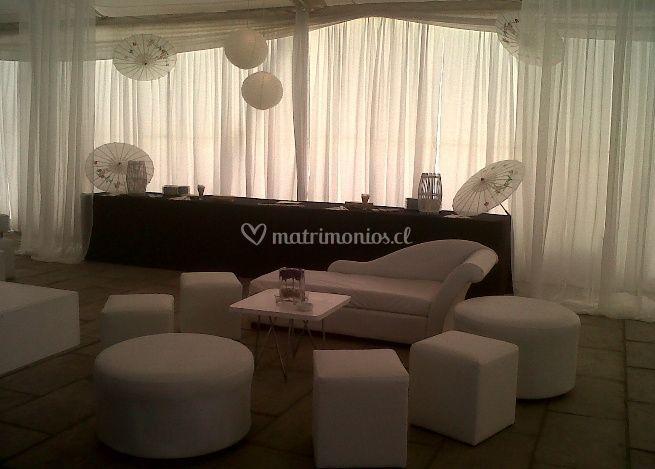 Matrimonio con Ambientación Lounge