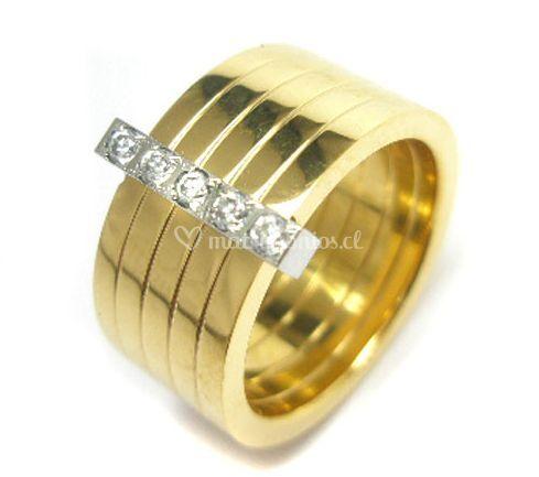 Acier joyas - Bano de oro ...
