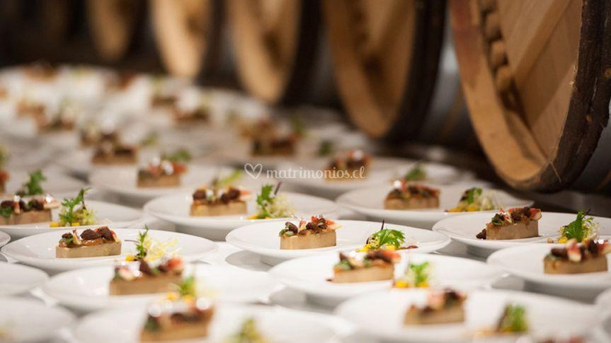 Gastronomía matrimonios