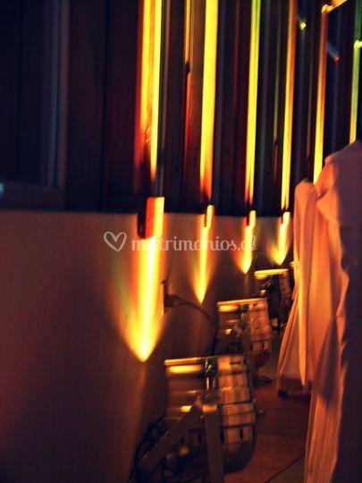 Iluminación perimetral LED