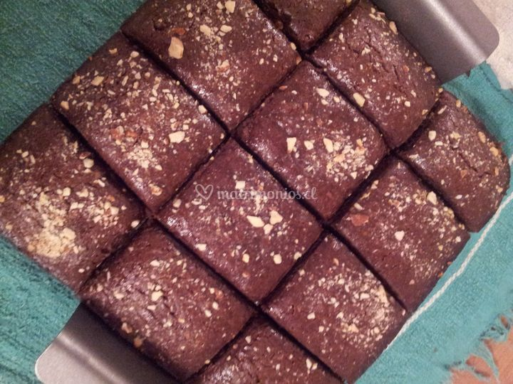 Brownies aptos alérgicos