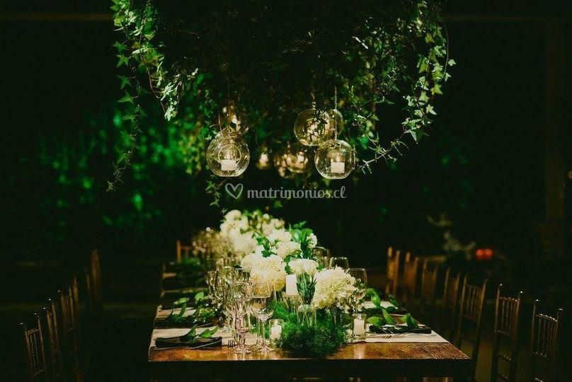 Casa almarza, mesa de novios