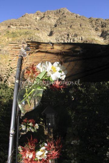 Vista desde la zona ceremonia