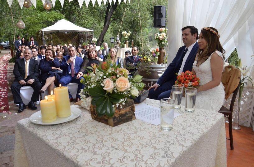 Mónica y Andrés