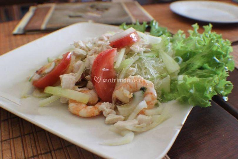 Yam Woon Sen Salad