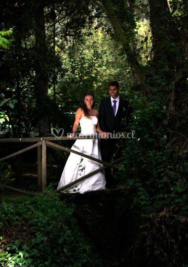 Pareja de novios - post boda