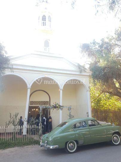 En la iglesia