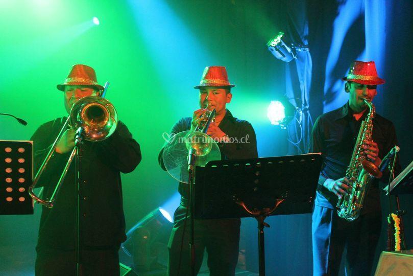 Bloque vientos Orquesta Candel