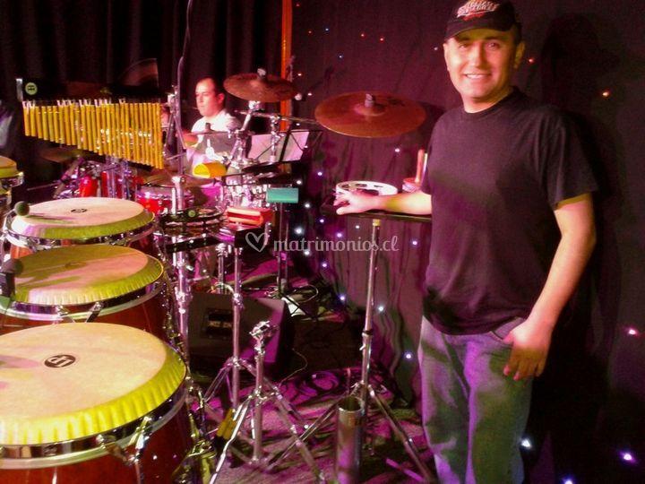 Percusionista Orquesta Candela