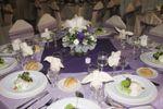 Organza lila de Centro de Eventos Bauerland