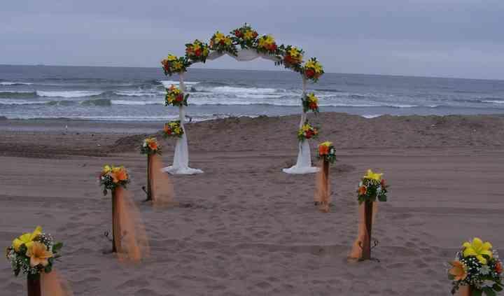 Arco playa o campo