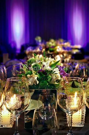 Flores y copas