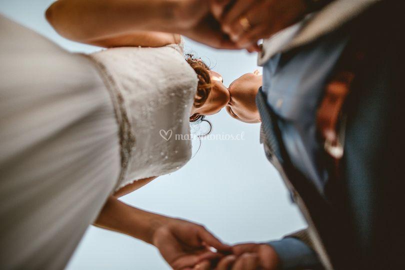 Puede besar a la novia
