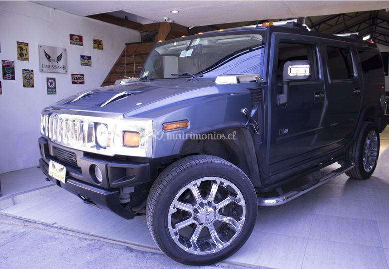 Hummer h2 azul