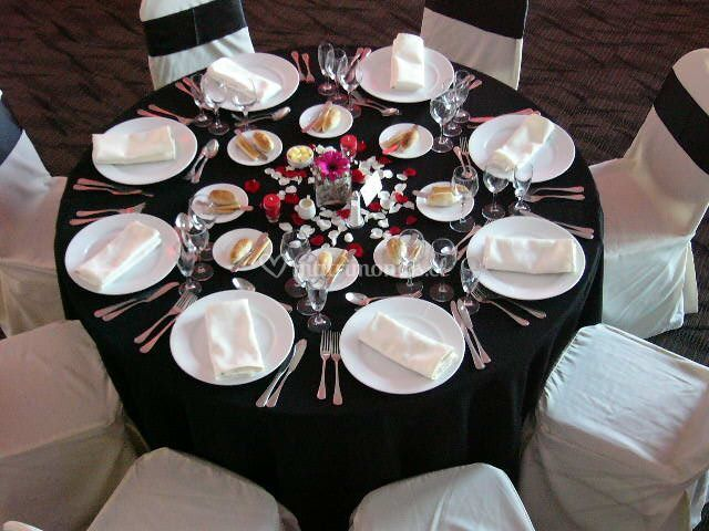Presentación de mesas