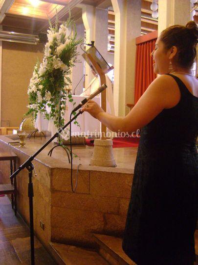 Canto en ceremonia