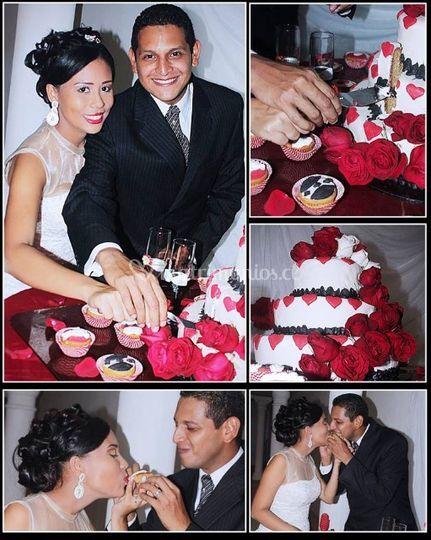 Cuadros con fotos bodas