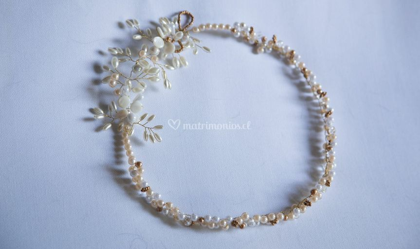 Corona de perlas