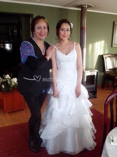 Novia: Jandhira Lopez