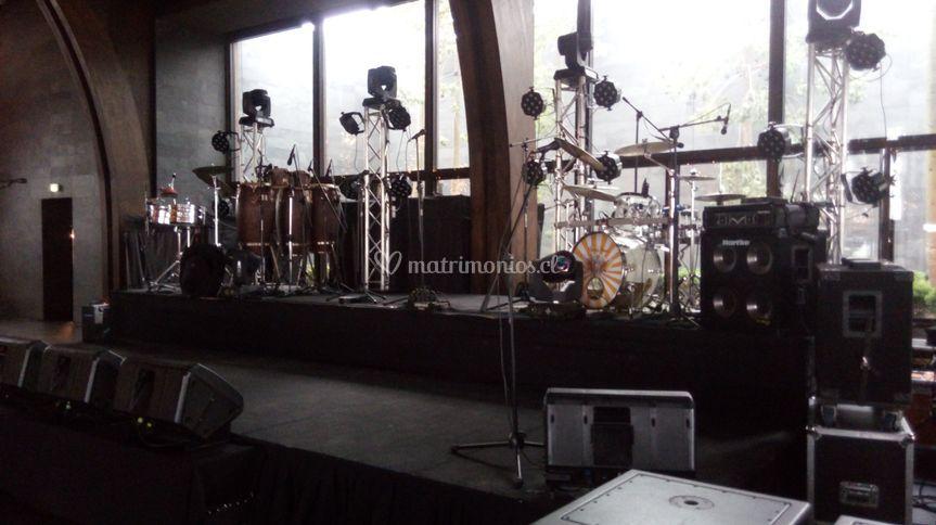Escenario Orquesta espectáculo