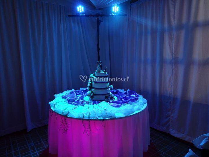 Iluminación torta