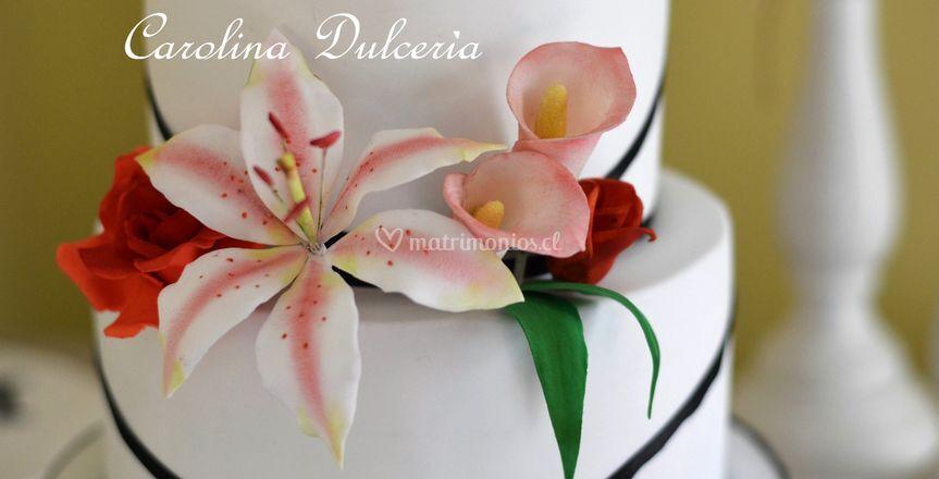 Lilium calas y rosas azúcar