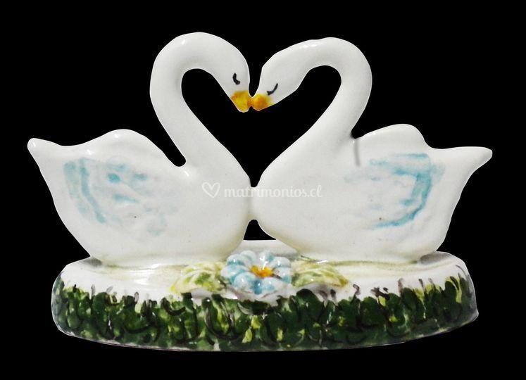 Souvenir en cisnes