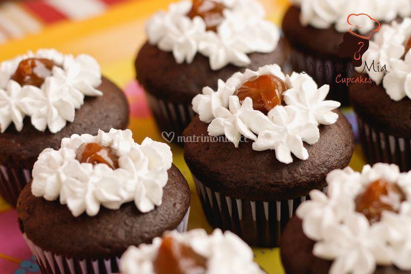 Chocolate y manjar