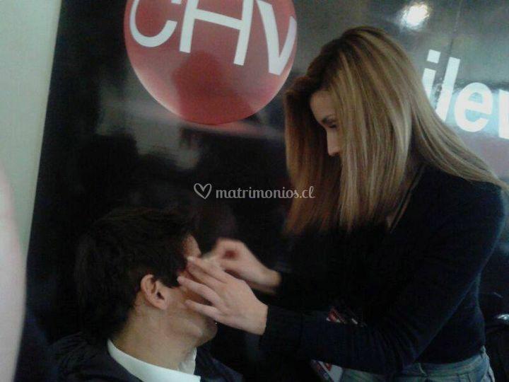 Makeup Tv Rafael Araneda (CHV)