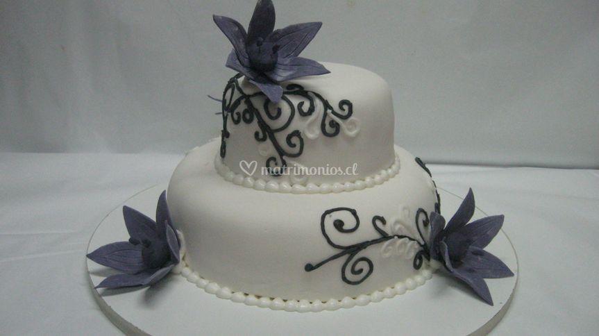 Torta tipo magnolias