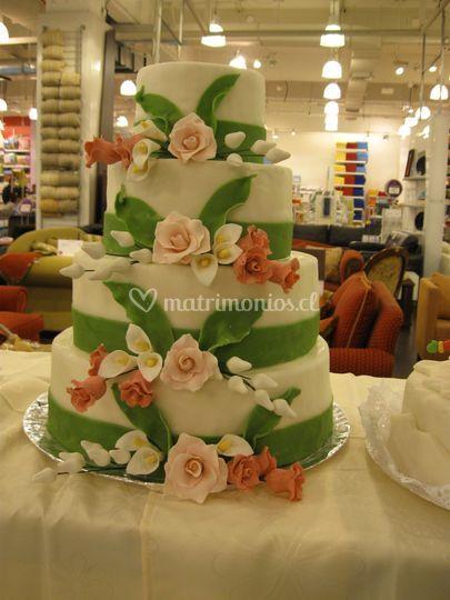 Torta jardín