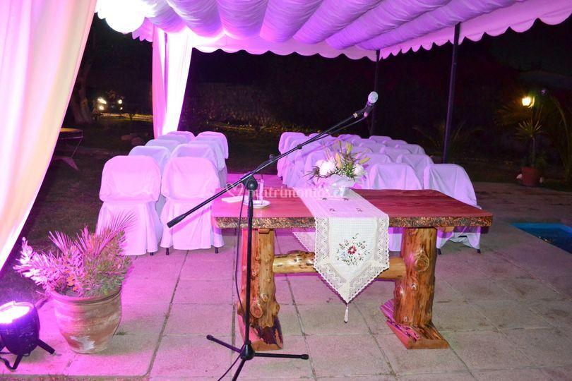 Altar matrimonio