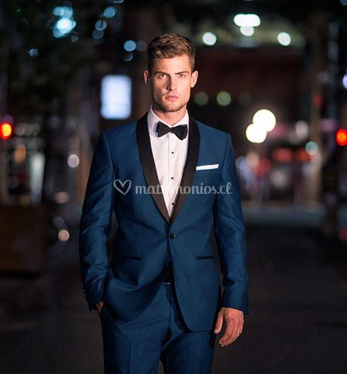 Tuxedo azul
