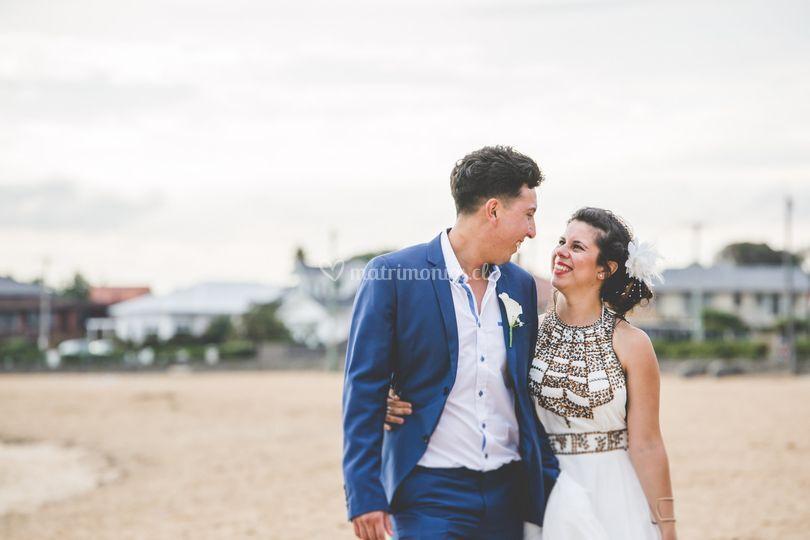 Danielle y Jonathan -Melbourne