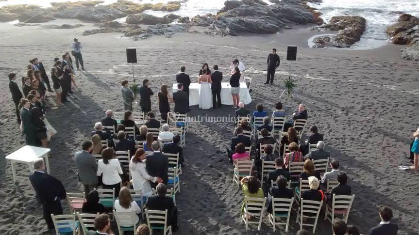 Matrimonio playa