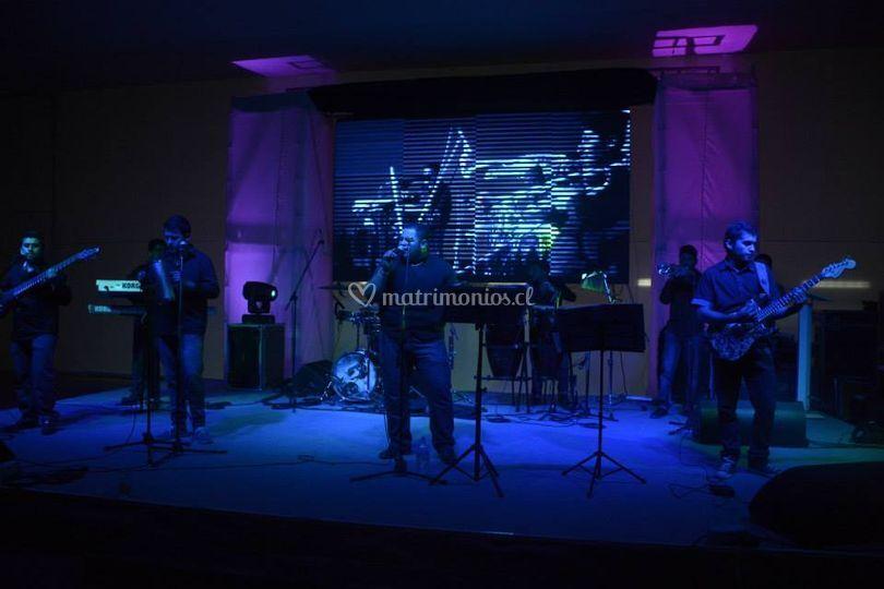 Evento con orquesta en vivo