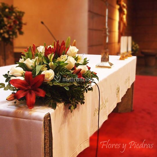 Cojinete para altar