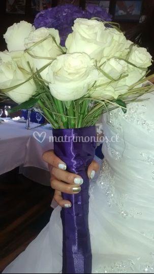 Manicure novia