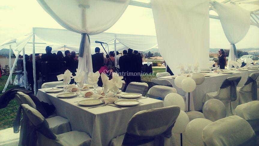 Ceremonia civil outdoor