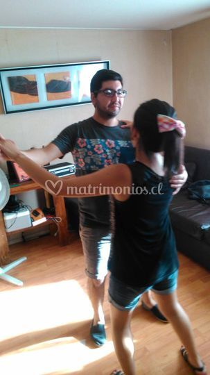 Práctica baile romántico