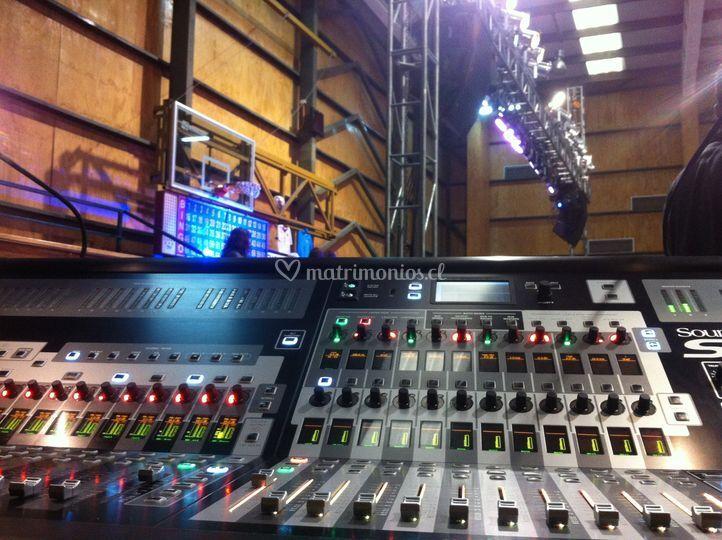 Audio e iluminación