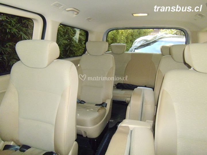 Interior Hyundai H1 10 pax.