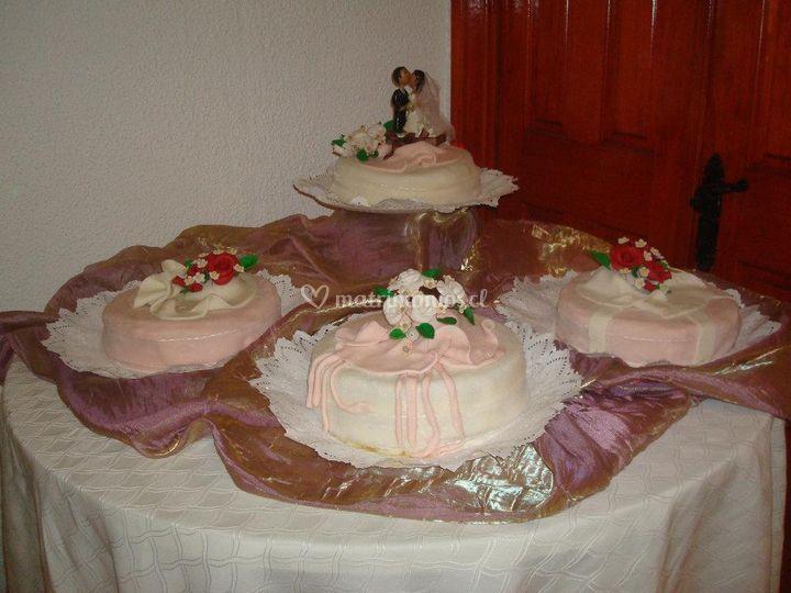 Novios para tortas